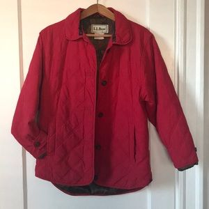 L.L. Bean vintage insulated barn coat
